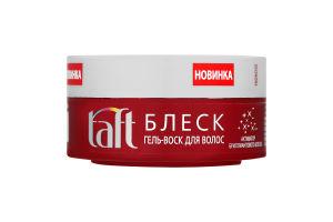 Гель-воск для волос с эффектом ламинирования Taft 75мл