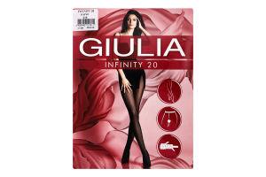 Колготки жіночі Giulia Infinity 20den 2-S daino