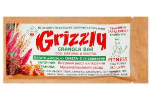 Батончик гранола Grizzly Dr.Granola м/у 30г
