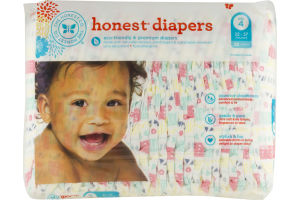 The Honest Co. Honest Diapers Size 4 - 29CT
