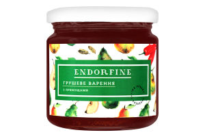 Варення грушеве з прянощами Endorfine с/б 234г