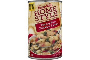 Campbell's Homestyle Soup Tuscany-Style Chicken & Pasta
