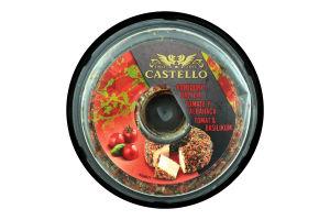 Крем-сир 65% з помідором і базиліком Castello п/у 125г