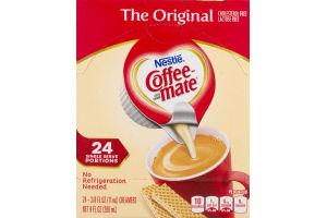 Nestle Coffee-Mate Single Serve Portions Original - 24 CT