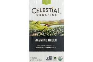 Celestial Organics Jasmine Green Tea Bags - 20 CT