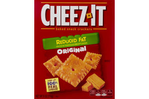 Cheez-It Baked Snack Crackers Reduced Fat Original