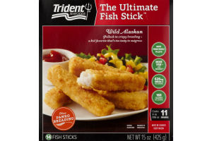 Trident Seafoods The Ultimate Fish Stick Wild Alaskan - 14 CT