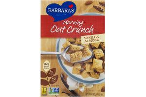Barbara's Morning Oat Crunch Cereal Vanilla Almond