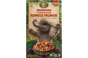 Nature's Path Organic Envirokidz Gluten & Wheat Free Cereal Cinnamon Jungle Munch