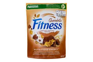 Пластівці з цільної пшениці з шоколадом Chocolate Fitness д/п 425г