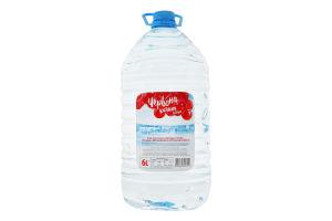 Вода минеральная природная столовая негазированная Лагидна Червона калина п/бут 6л