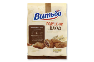 Сніданки сухі Подушечки з какао Витьба м/у 130г