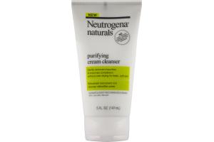 Neutrogena Naturals Purifying Cream Cleanser