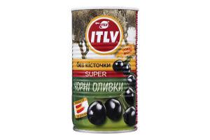 Маслины без косточки Super ITLV ж/б 350г