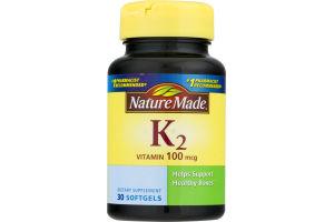 Nature Made Vitamin K2 - 30 CT