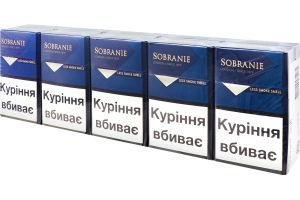 Sobranie blue сигареты купить заказать сигареты в сша