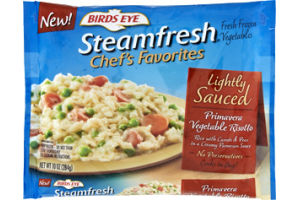 Birds Eye Steamfresh Chef's Favorites Lightly Sauced Primavera Vegetable Risotto