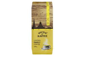 Кава натуральна смажена в зернах Lvivska family coffee Wiener Kaffee м/у 1кг