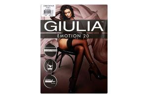 Панчохи жіночі Giulia Emotion 20den M/L nero