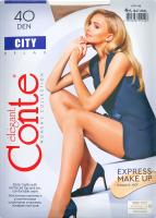 Колготки жіночі Conte City №8С-38СПС 40den 4-L natural