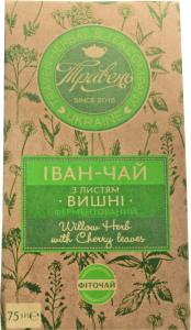 Фіточай ферментований з листям вишні Іван-чай Травень к/у 75г