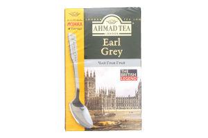 Чай черный с ароматом бергамота Earl Grey Ahmad Tea к/у 100г