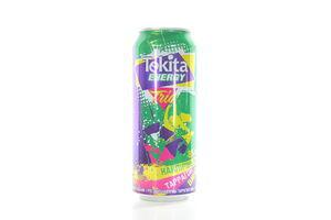 Напиток слабоалкогольный 0.5л 8% Tekita energy Trio Cajpiriniy Tarragon Vine ж/б