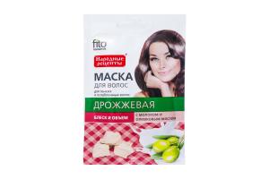 Fitoкосметик маска д/волосся дріжджова д/тонкого,ослабленого 30мл