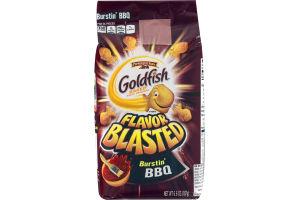 Pepperidge Farm Goldfish Baked Snack Crackers Flavor Blasted Burstin' BBQ