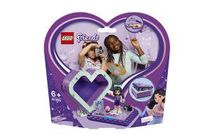 Конструктор Коробка-серце з Еммою41355