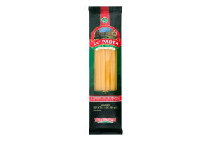 Вироби макаронні ниткоподібні довгі Спагетті La Pasta м/у 400г