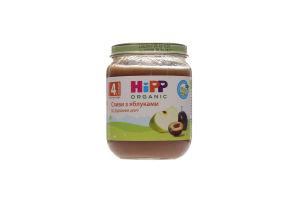 Пюре для детей от 4мес Сливы с яблоками Hipp с/б 125г