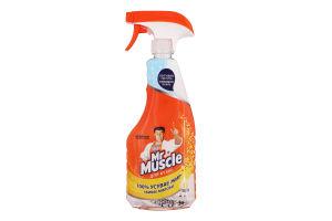 Засіб для миття та чищення кухонних поверхонь Свіжість лимона Mr.Muscle 500мл