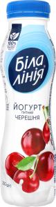 Йогурт 1.5% Черешня Біла лінія п/бут 250г