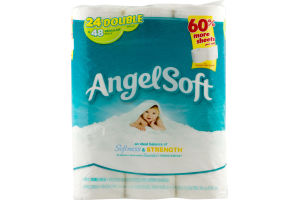 Angel Soft Unscented Bathroom Tissue