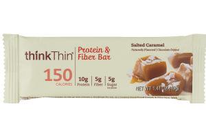 thinkThin Protein & Fiber Bar Salted Caramel