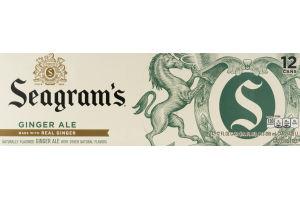 Seagram's Ginger Ale - 12 PK