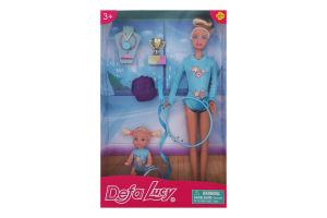 Набор игровой для детей от 3лет из 2-х кукол №8353 Гимнастика Lucy Defa 1шт