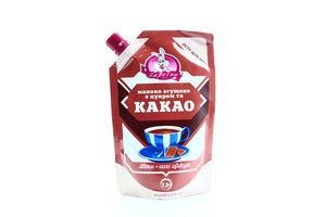 Молоко 7,5% сгущенное с сахаром и какао Заречье д/п 270г