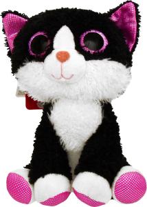 Мягкая игрушка Fancy Котик Глазастик, 20 см