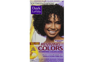Dark And Lovely Reviving Colors Nourishing Colors Nourishing Color & Shine 395 Natural Black