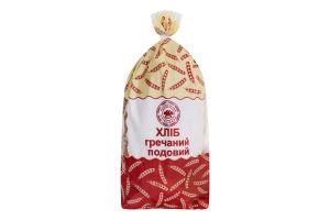 Хлеб подовый Гречневый Прилуцький хлібозавод м/у 0.55кг