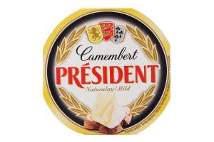 Сыр 60% Camembert President к/у 120г