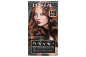 Фарба для волосся Preference №7.43 Loreal