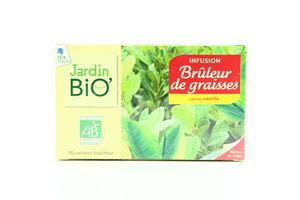 Чай травяной д/спаливания жиров органический Jardin Bio 20*1,5г