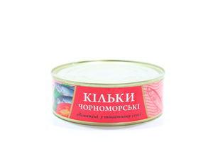 Кільки Fish Line Чорноморські у томатному соусі 240г х24