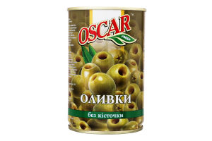 Оливки без кісточки Oscar з/б 314мл