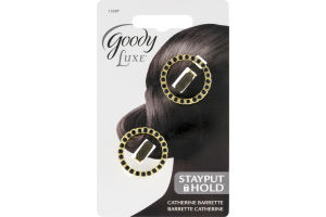 Goody Luxe Barrette Catherine - 2 CT