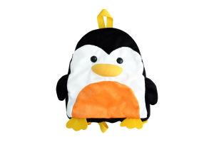 Мягкая игрушка-рюкзак Fancy Пингвин, 29 см