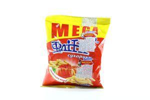 Сухарики со вкусом красной икры Flint м/у 150г